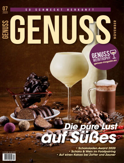 GENUSS.Magazin November 03, 2020 00:00