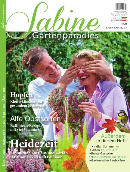 SABINE-Magazin (eingestellt) September 22, 2017 00:00