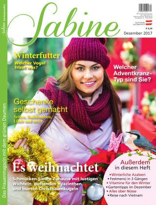 SABINE-Magazin 12/2017