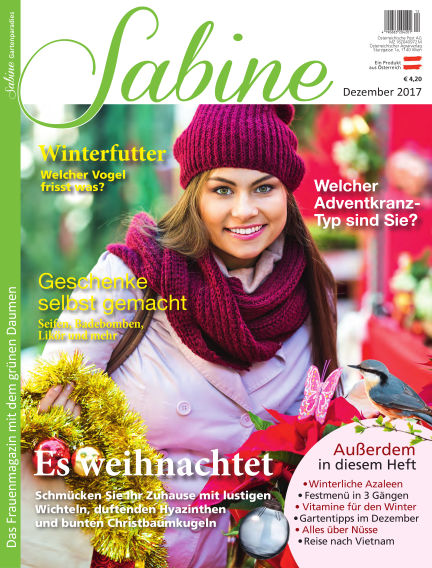 SABINE-Magazin (eingestellt) December 02, 2017 00:00