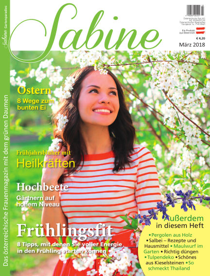 SABINE-Magazin (eingestellt) March 01, 2018 00:00