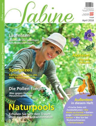 SABINE-Magazin 04/2018