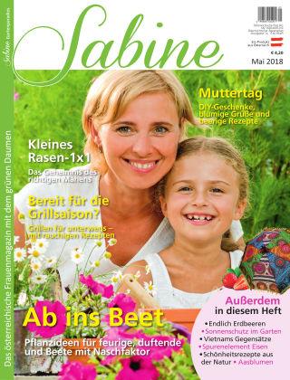 SABINE-Magazin 05/2018