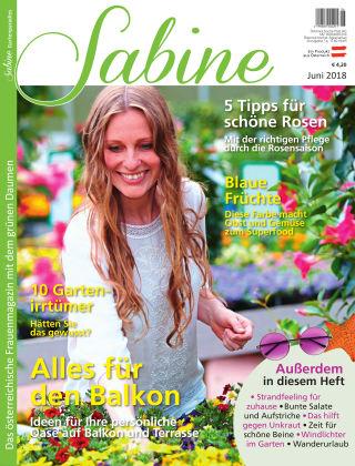 SABINE-Magazin 06/2018