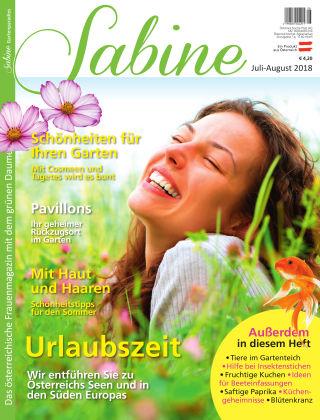 SABINE-Magazin 07/2018