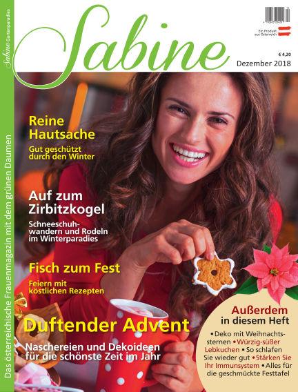 SABINE-Magazin November 23, 2018 00:00