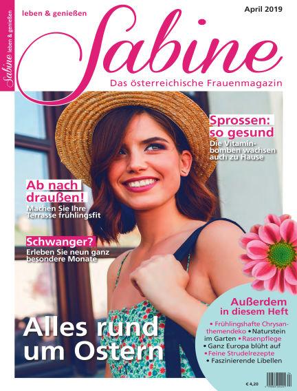 SABINE-Magazin (eingestellt) March 22, 2019 00:00