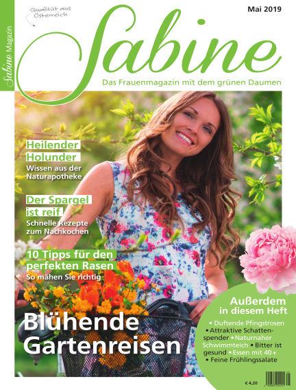 SABINE-Magazin April 26, 2019 00:00