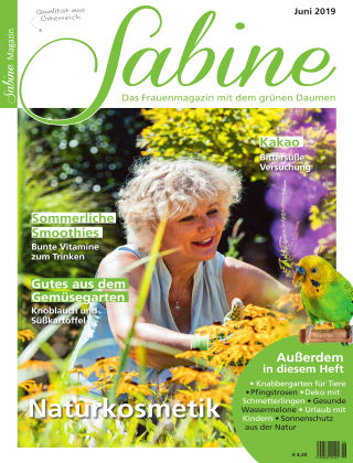 SABINE-Magazin 05/2019