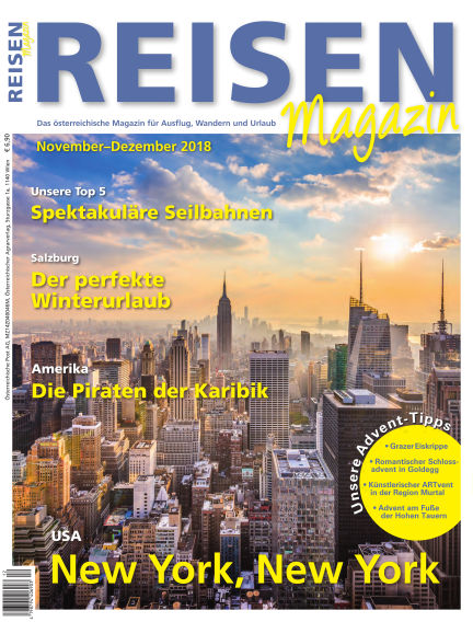 REISEN-Magazin November 02, 2018 00:00