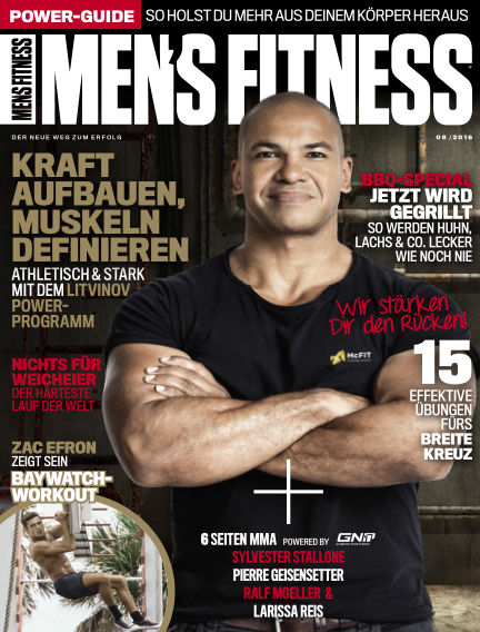 Men's Fitness DE July 05, 2016 00:00
