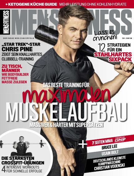Men's Fitness DE September 06, 2016 00:00