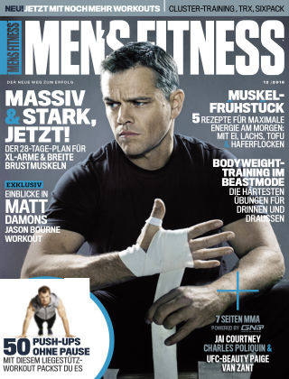 Men's Fitness DE Issue 73