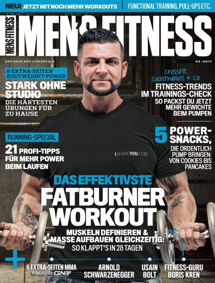 Men's Fitness DE January 03, 2017 00:00