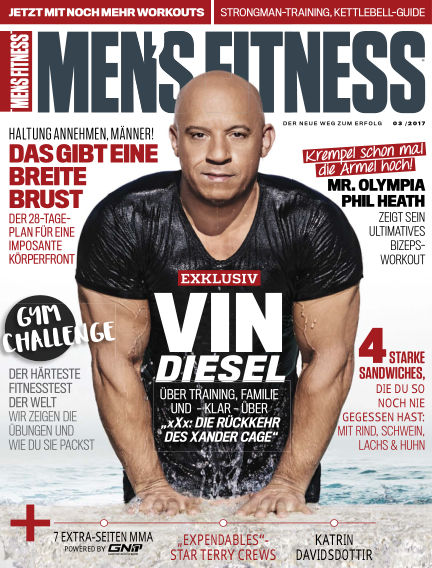 Men's Fitness DE February 07, 2017 00:00