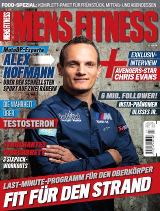 Men's Fitness DE July 2019