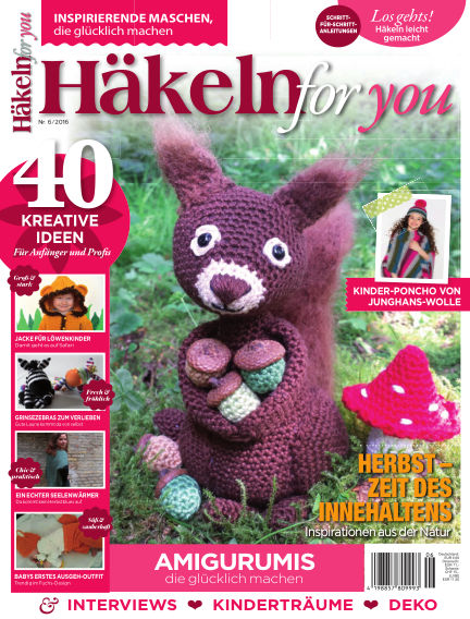 Häkeln For You Subscription Best Offer With Readly