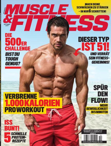 Muscle & Fitness Deutschland September 16, 2017 00:00