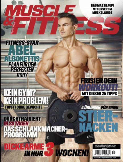 Muscle & Fitness Deutschland October 03, 2017 00:00