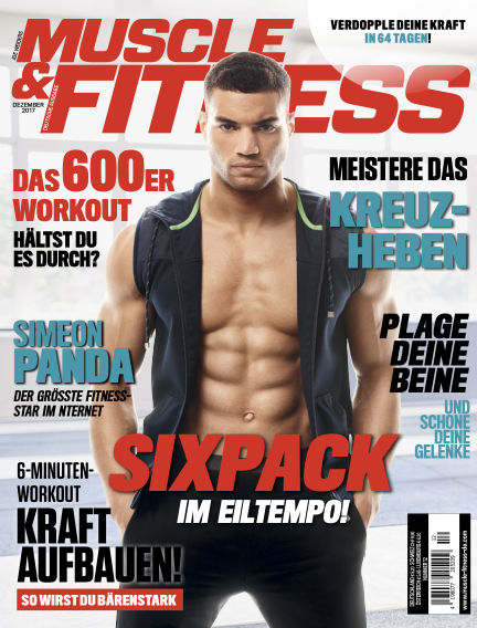 Muscle & Fitness Deutschland November 14, 2017 00:00