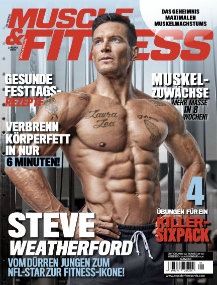 Muscle & Fitness Deutschland December 12, 2017 00:00
