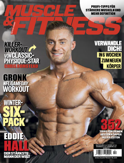 Muscle & Fitness Deutschland January 09, 2018 00:00