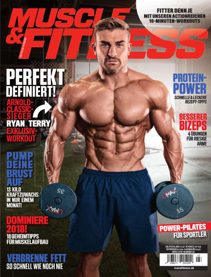 Muscle & Fitness Deutschland February 13, 2018 00:00