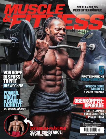 Muscle & Fitness Deutschland March 13, 2018 00:00