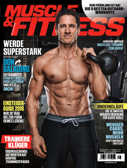 Muscle & Fitness Deutschland April 10, 2018 00:00