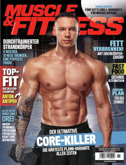 Muscle & Fitness Deutschland May 08, 2018 00:00