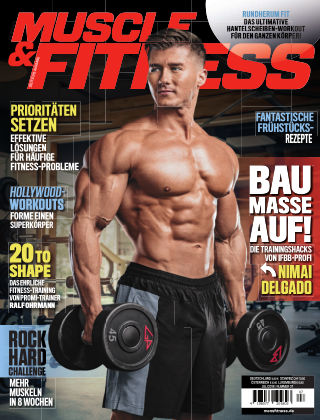 Muscle & Fitness Deutschland July 2018