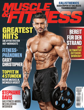 Muscle & Fitness Deutschland September 2018