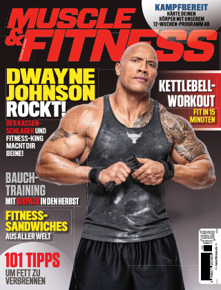 Muscle & Fitness Deutschland October2018