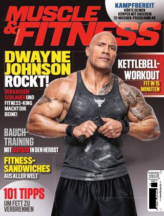 Muscle & Fitness Deutschland October2018