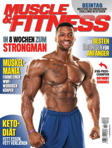 Muscle & Fitness Deutschland October 09, 2018 00:00