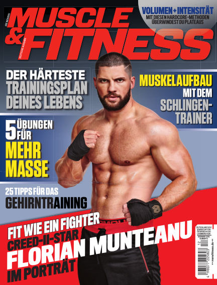 Muscle & Fitness Deutschland November 13, 2018 00:00