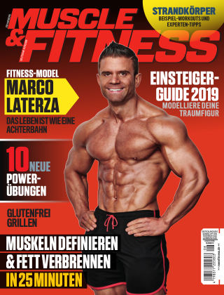 Muscle & Fitness Deutschland Aug 2019