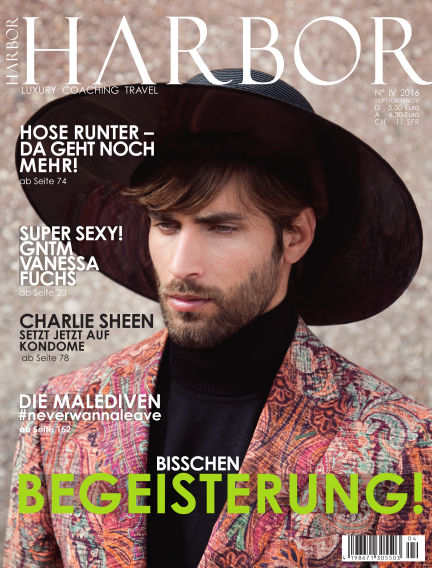 HARBOR Magazin September 02, 2016 00:00