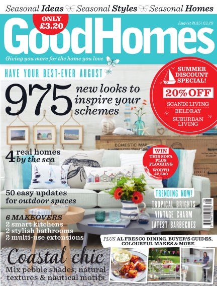 Good Homes August 01, 2015 00:00
