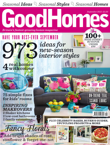 Good Homes September 01, 2015 00:00