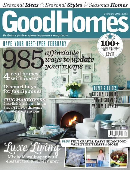 Good Homes February 01, 2016 00:00
