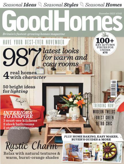 Good Homes November 01, 2015 00:00