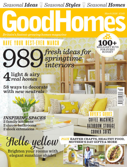 Good Homes March 01, 2016 00:00