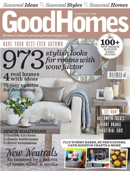 Good Homes October 01, 2015 00:00