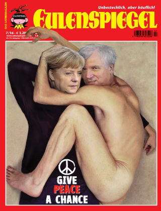 EULENSPIEGEL, das Satiremagazin 07/2016
