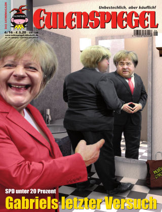 EULENSPIEGEL, das Satiremagazin 06/2016
