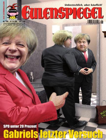 EULENSPIEGEL, das Satiremagazin May 26, 2016 00:00