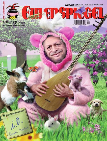 EULENSPIEGEL, das Satiremagazin April 28, 2016 00:00