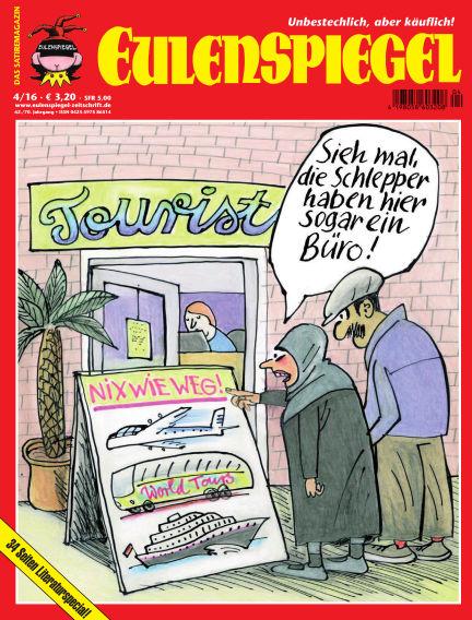 EULENSPIEGEL, das Satiremagazin March 24, 2016 00:00