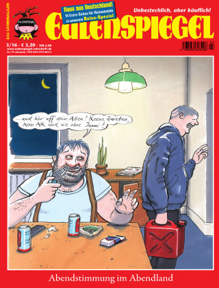 EULENSPIEGEL, das Satiremagazin 03/2016